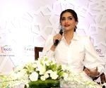 Sonam Kapoor shares throw