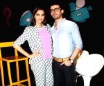Sonam & Fawad Khan on sets of Disney Show Captain Tiao