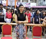 Sophie Choudry attend Mithibai College Festival