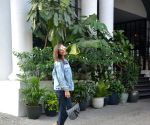 Sophie Chowdhary at a Juhu restaurant