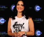 Sunny Leone shows how to dress glam in bold makeup and Holi perfect summer shorts