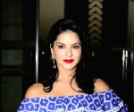 Watch Sunny Leone have fun as she opened her first Star Struck cosmetics kiosk in U.A.E