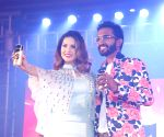 : (080216) Bengaluru: Actress Sunny Leone at the launch of a energy drink