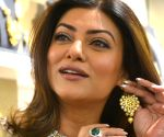 Sushmita Sen inaugurates jewellery showroom
