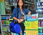 Swara Bhaskar seen at Juhu