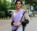 "Taapsee Pannu at ""Mission Mangal"" promotions"