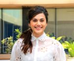 Taapsee Pannu drops a new BTS picture from Rashmi Rocket sets in Bhuj