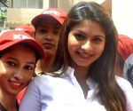 Promotional event - Tanishaa Mukherji