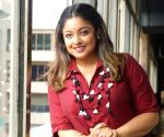 Tanushree Dutta during an interview