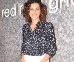Tapsee Pannu during a promotional programme