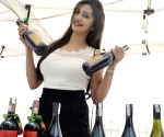 Tina Ponappa at the inauguration of 'Vine and Berry Festival'