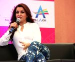 Tisca Chopra and Swara Bhaskar during a event