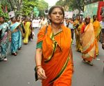 BJP demonstration against attacks on minorities in Bangladesh