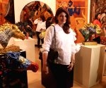 Inauguration of art show - Breaking Barriers - Twinkle Khanna