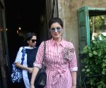 Twinkle Khanna seen at Bandra