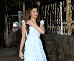 Urvashi Rautela seen at Mumbai's Juhu