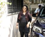 Vidya Balan seen outside a dance class