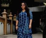 Vidya Balan spotted at Arjun Rampal office
