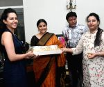Vidya Balan meets the family of N. T. Rama Rao