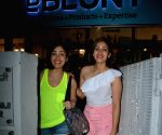 Yami Gautam and Surilie Gautam seen at a salon