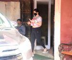 Zareen Khan seen at Khar