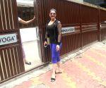 Zarine Khan seen outside a gym