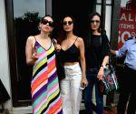 Karisma Kapoor, Malaika Arora and Anu Diwan seen at Mumbai's Bandra