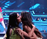 "Shilpa Shetty Kundra, Katrina Kaif on the sets of ""Super Dancer chapter 3"