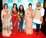 Shriya Saran and Eesha Koppikar at Jhelum store launch