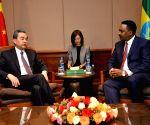 ETHIOPIA ADDIS ABABA CHINESE FM MEETINGS