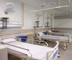 Free Photo: Noida: Additional Chief Secretary Health inspects Covid Hospital