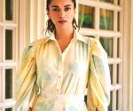 Aditi Rao Hydari recalls fond memories of her Telugu debut 'Sammohanam'  in Mumbai.