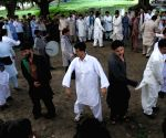Afghans during a cultural function on occasion of Eid ul-Fitr in Kolkata