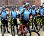 After paying homage at Jallianwala Bagh on the occasion of 74th Independence Day, a cycle rally of CRPF jawans reached Amritsar