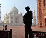 Security beefed-up at Taj Mahal