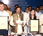 Adoption of Taj Mahal declaration - Mahesh Sharma, Eric Solheim, Dia Mirza