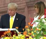 What poets say of Taj, as Trump terms it 'a timeless testament'