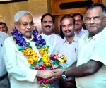 Agriculture scientists felicitate Nitish Kumar