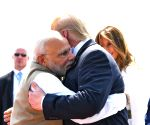 'My friend, India's friend', says Modi as he welcomes Trump at Motera