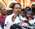 M. Thambidurai appears before Justice Arumughaswamy Commission