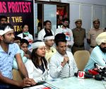 AIIMS resident doctors' press conference