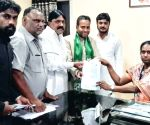 Telangana Assembly elections - AIMIM's Rahmath Baig files nomination