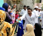 AIMIM leaders reach out to locals with masks and soaps amid COVID-19 pandemic