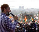 Asaduddin Owaisi addresses protesters at 'Tiranga rally