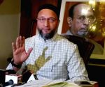AIMIM President Asaduddin Owaisi, addressing the media on Monday 01st March, 2021
