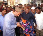 Asaduddin Owaisi launches AIMIM's election campaign