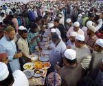 Asaduddin Owaisi hosts iftar party at Darussalam