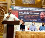 AIMIM Supremo Asaduddin Owaisi MP, addressing Muslims in Telangana discusses poverty and other challenges in Hyderabad organized by AIMIM, Amarullah Khan and Dr Sudhir