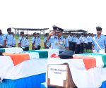 Air Warriors pay tribute to colleagues killed in Arunachal helicopter crash