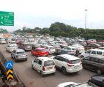 SAD protest leads to traffic congestion at Delhi-Gurugram border